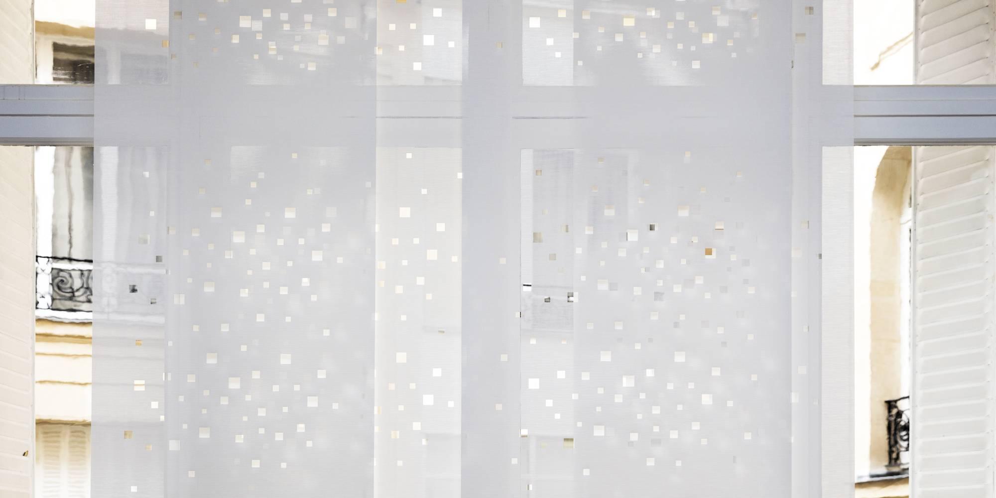 """Dessin """"lumières de la ville"""" sur panneaux écrans solaires"""