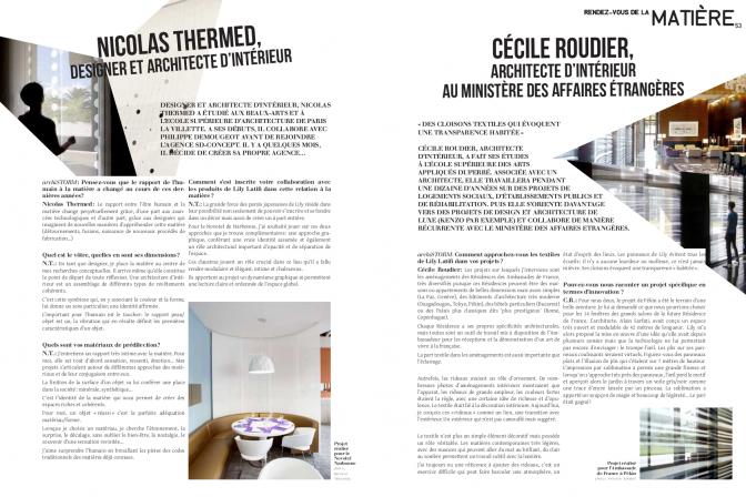 Archistorm 2013 -  Lily Latifi en collaboration avec Nicolas Thermed et Cécile Roudier