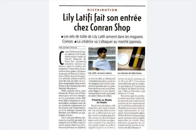 Fashion Daily News 5 Mai 2000
