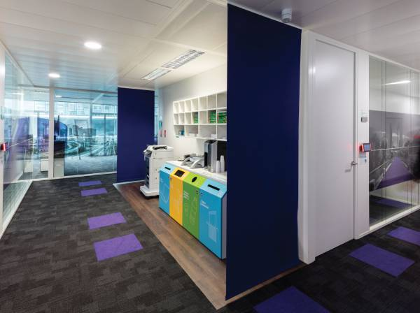 1 - Space dividers for Accenture