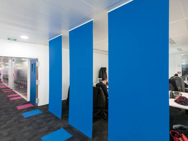 2 - Space dividers for Accenture