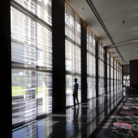 Habillage de fenêtre / Ambassade de france à Pékin