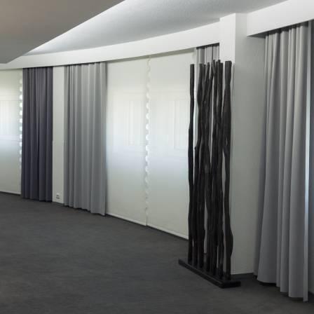 projets r alis s rideaux sur mesure. Black Bedroom Furniture Sets. Home Design Ideas