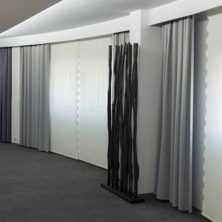 blackout curtains in meeting room-1