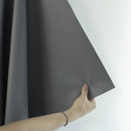 blackout curtains in meeting room-detail