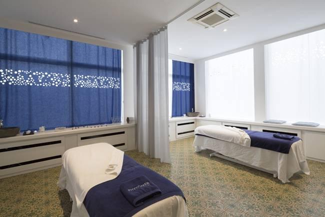 Vue d'ensemble salle de massage Blå Spa