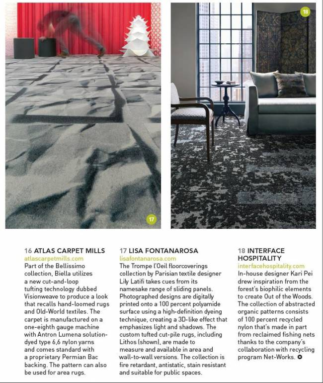 Lily Latifi in Boutique Design Magazine