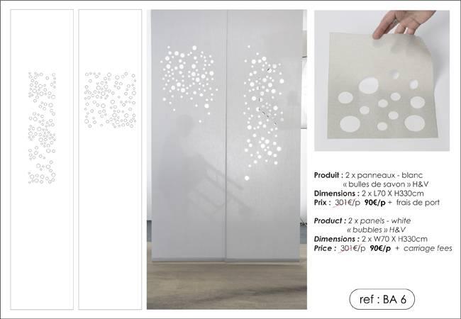 """2 """"bubbles"""" panels"""