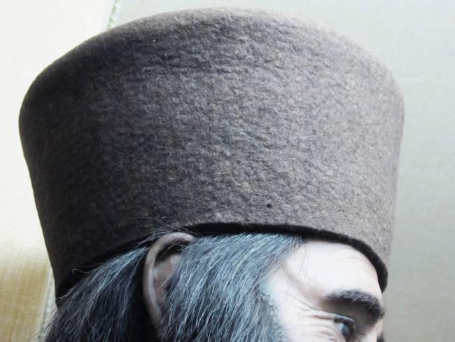chapeau en feutre fait main