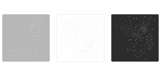 exemples de compositions pour nappes carrées