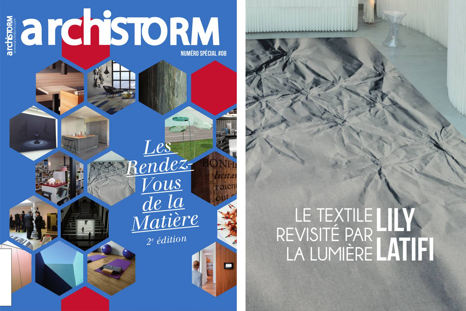 Archistorm - special issue #8 - 2014 - Textiles revisited by natural light