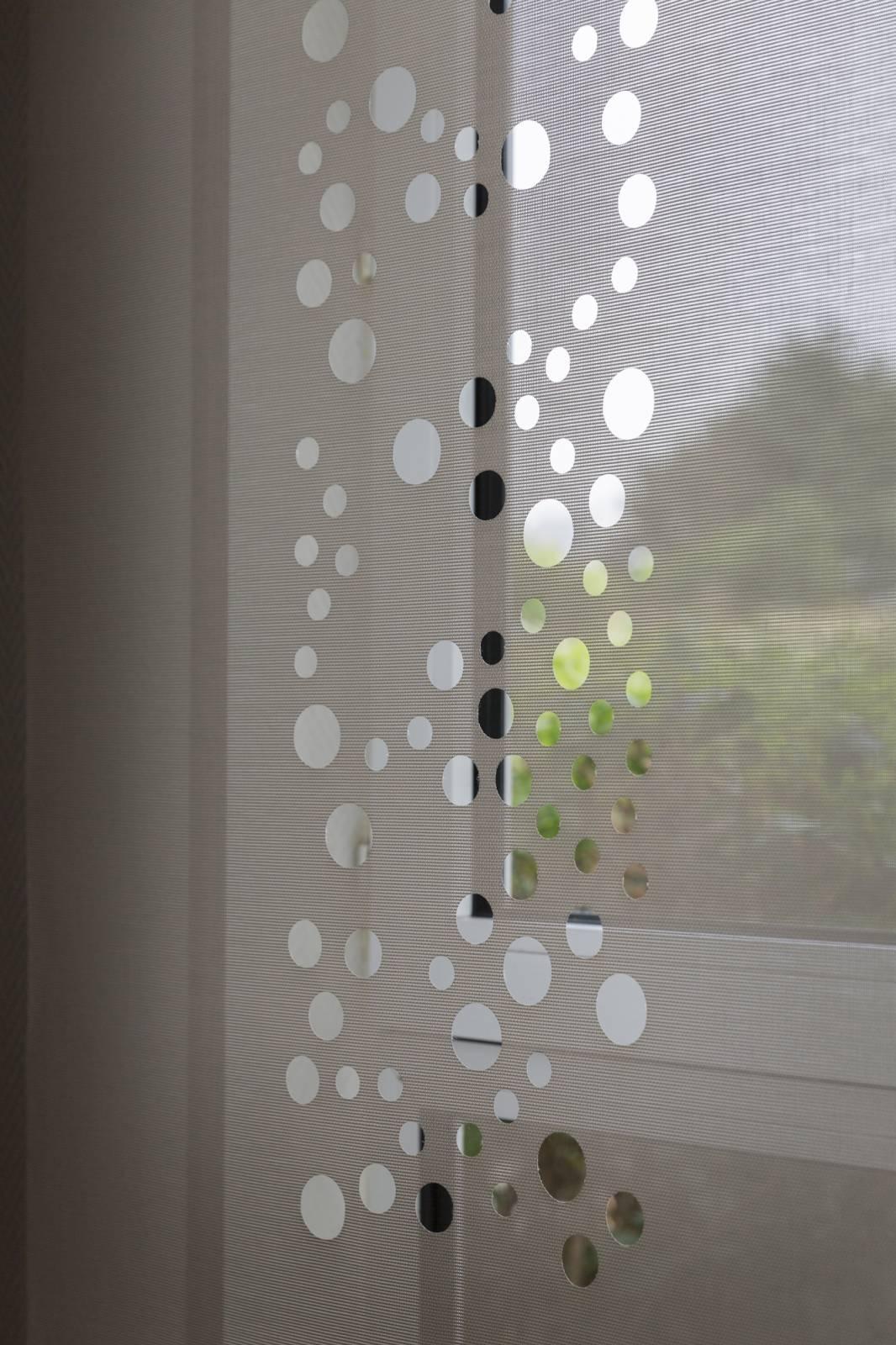 """Panneaux japonais écrans solaires """"Bulles de savon"""" : Novotel Rungis - 4"""