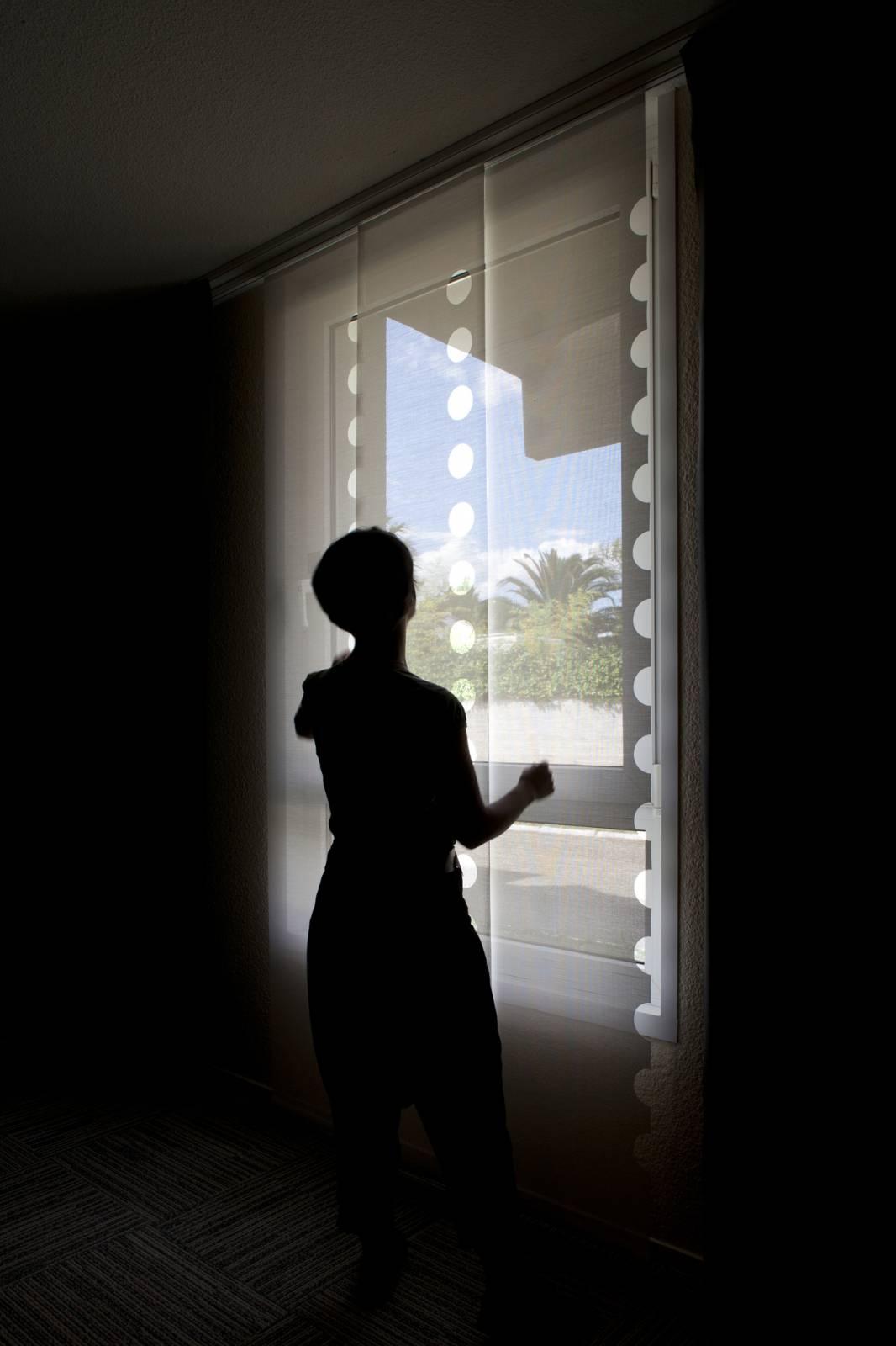 """Panneaux japonais écran solaire """"Le Cahier"""" - exemple de réalisation 14"""