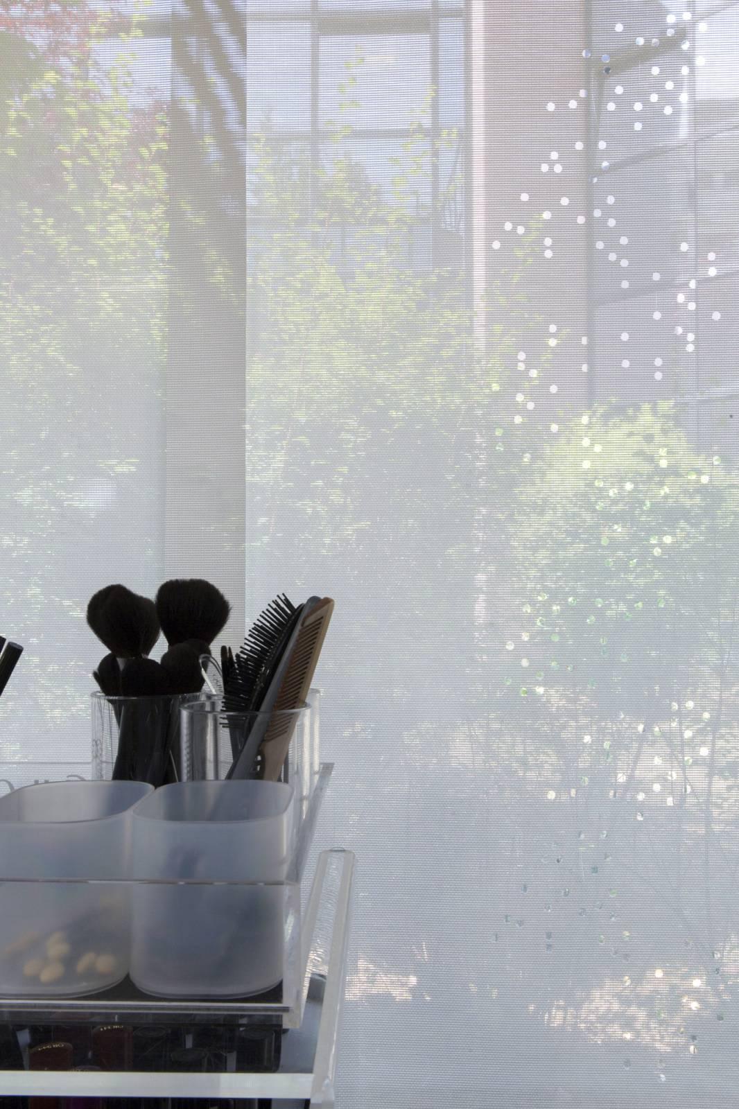 """Panneaux japonais translucides """"Champagne"""" - exemple de réalisation 2"""