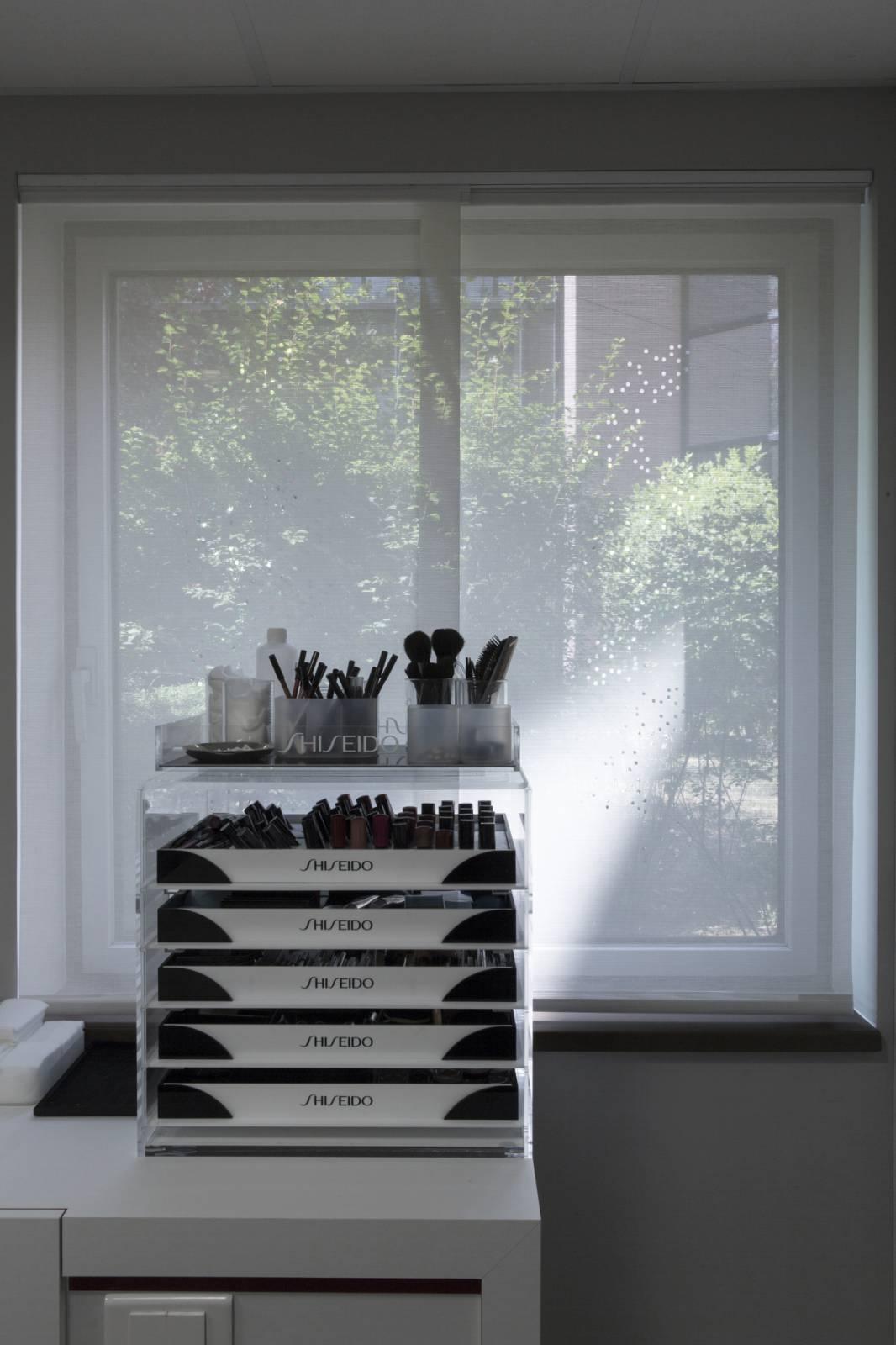 """Panneaux japonais écran solaire """"Champagne"""" - exemple de réalisation 3"""