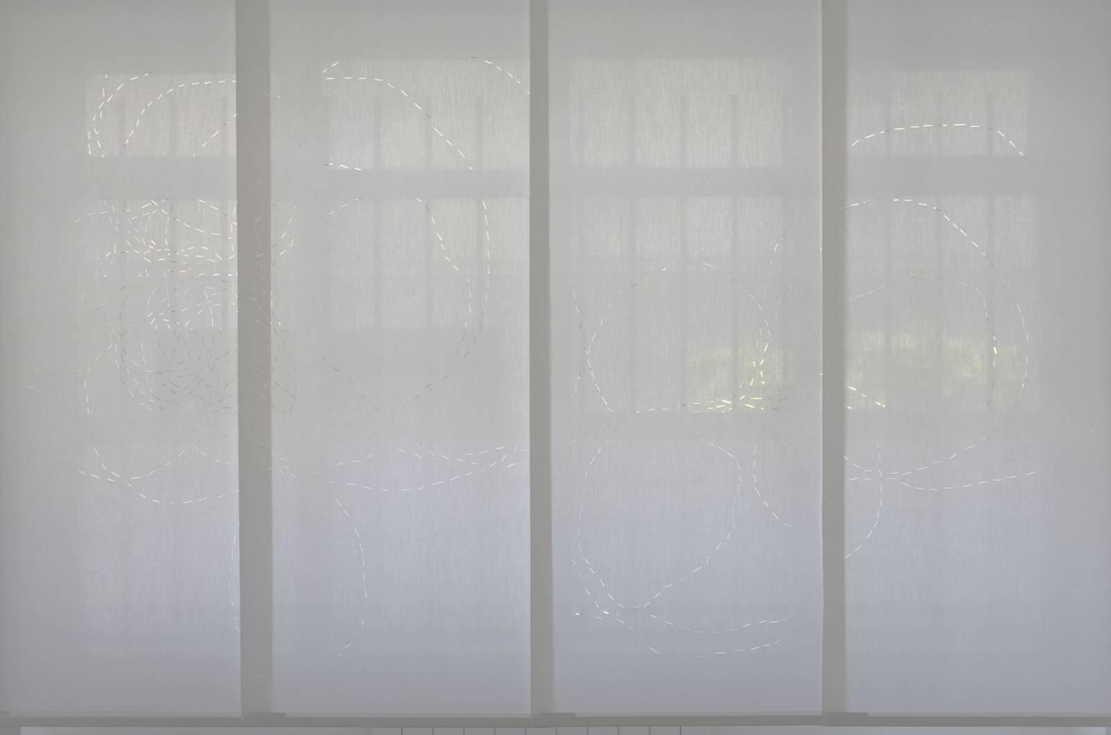 """Panneaux japonais translucides """"Chemin infini"""" - exemple de réalisation 3"""