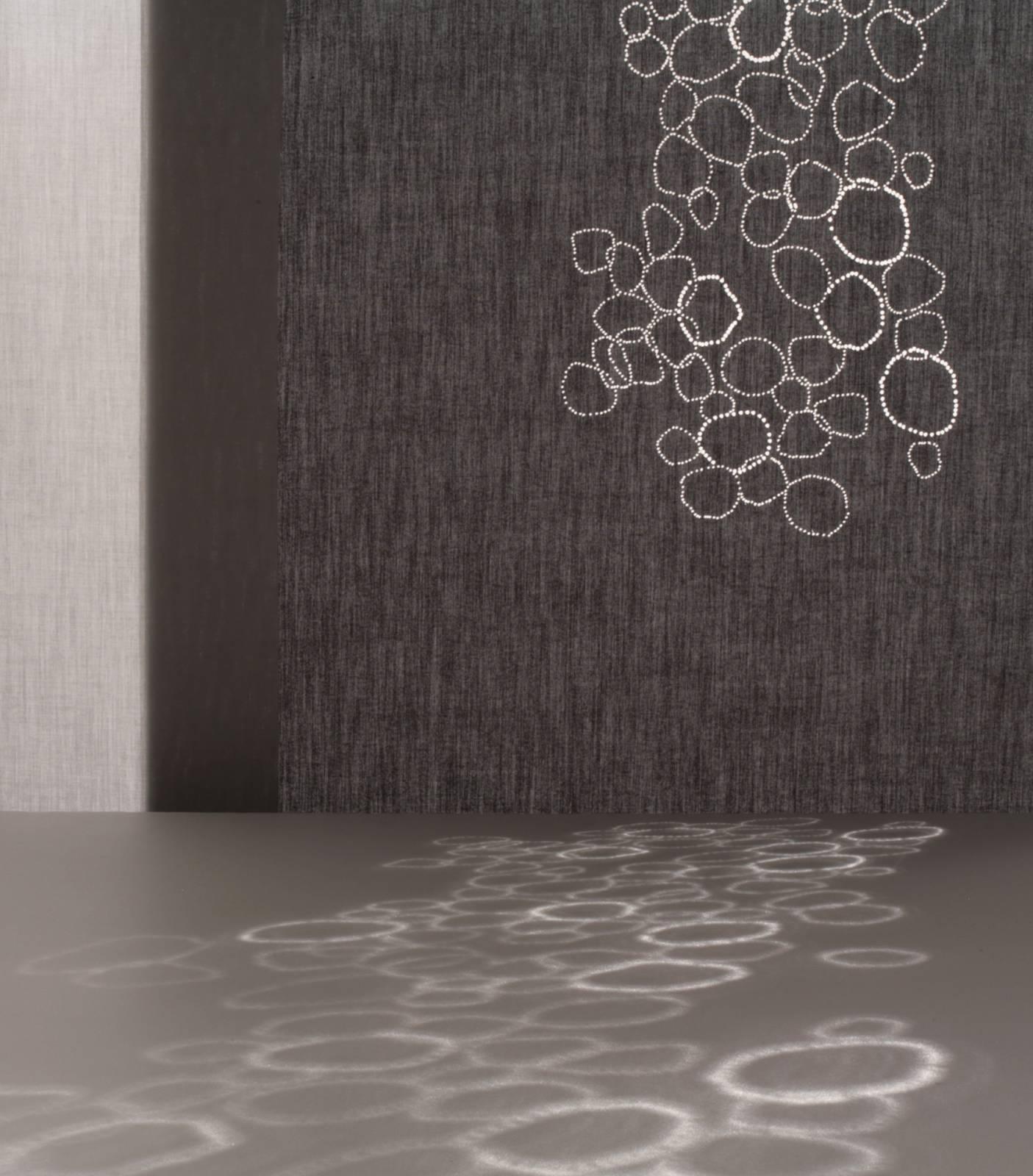 """Panneaux japonais translucides """"Galets"""" - exemple de réalisation 3"""