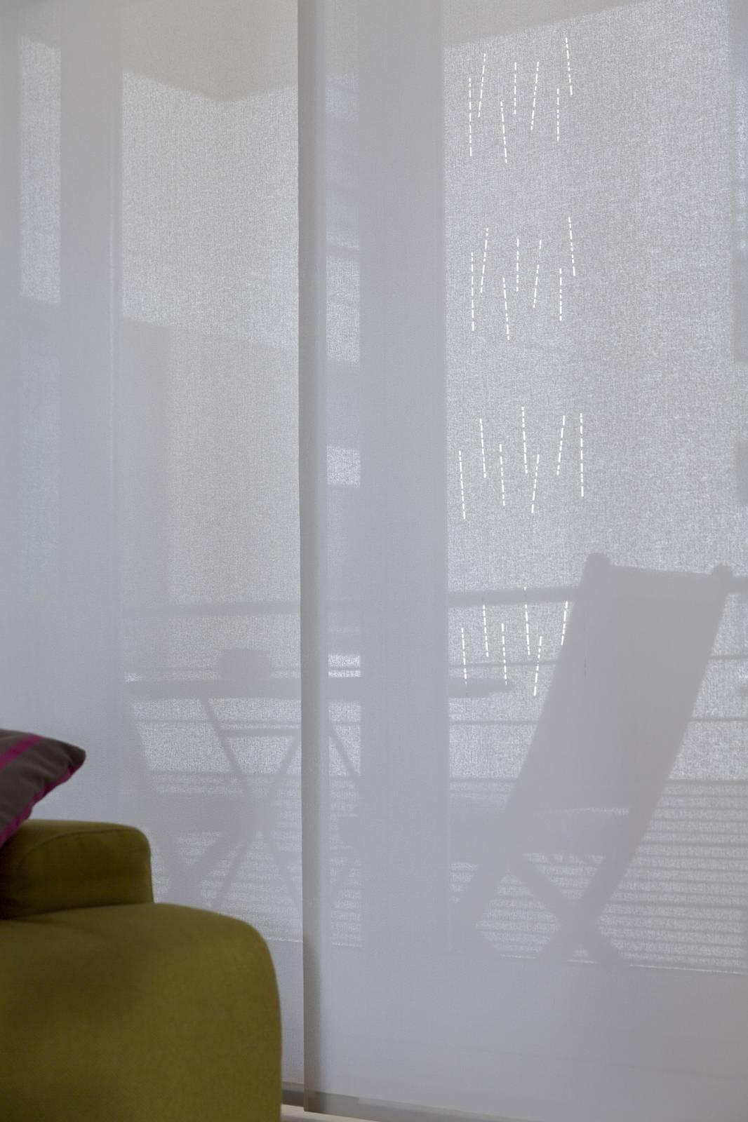 """Panneaux japonais écran solaire """"Mikado"""" - exemple de réalisation 4"""