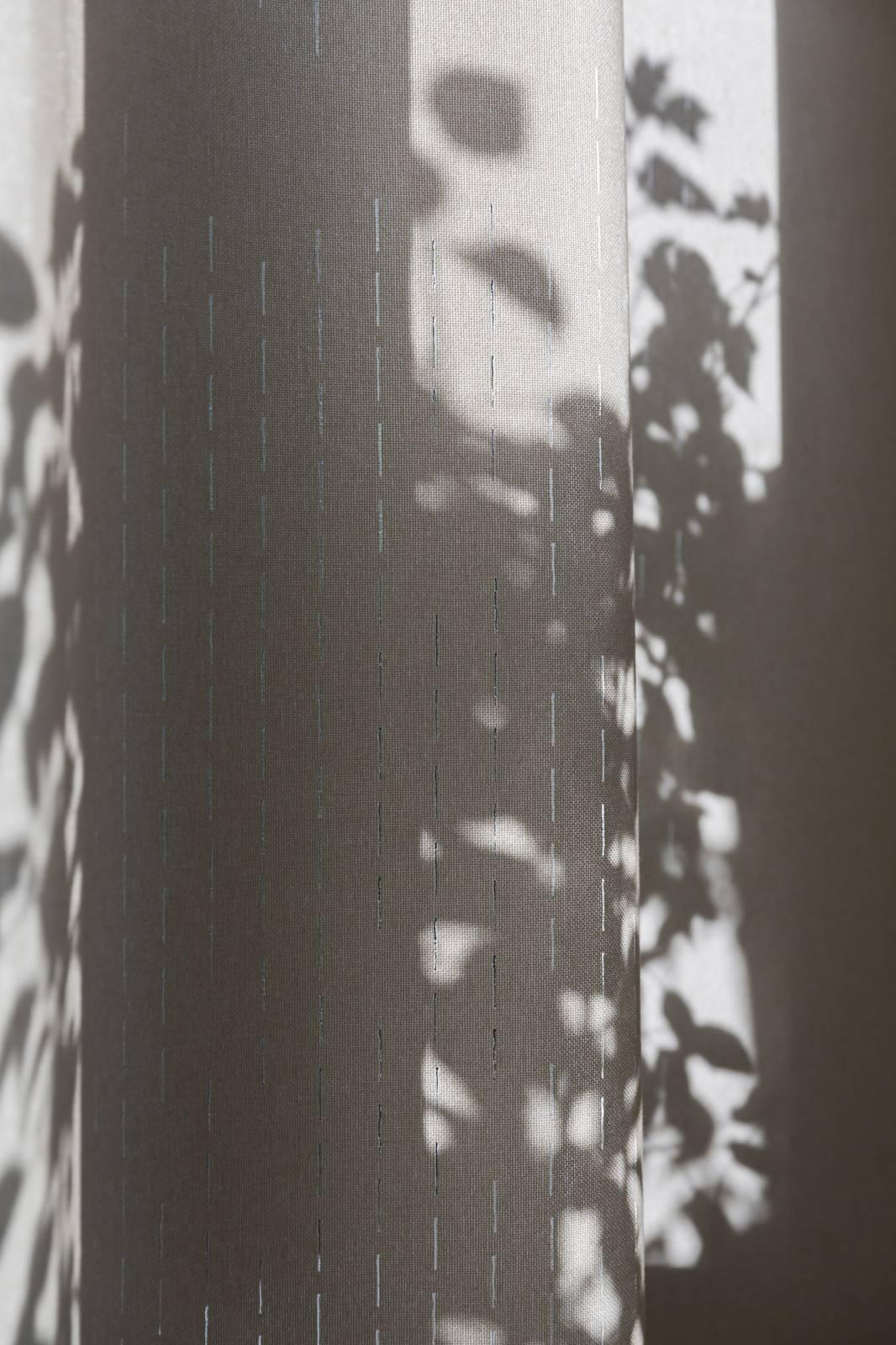 """Panneaux japonais translucides """"Nuage de traits"""" - exemple de réalisation 4"""