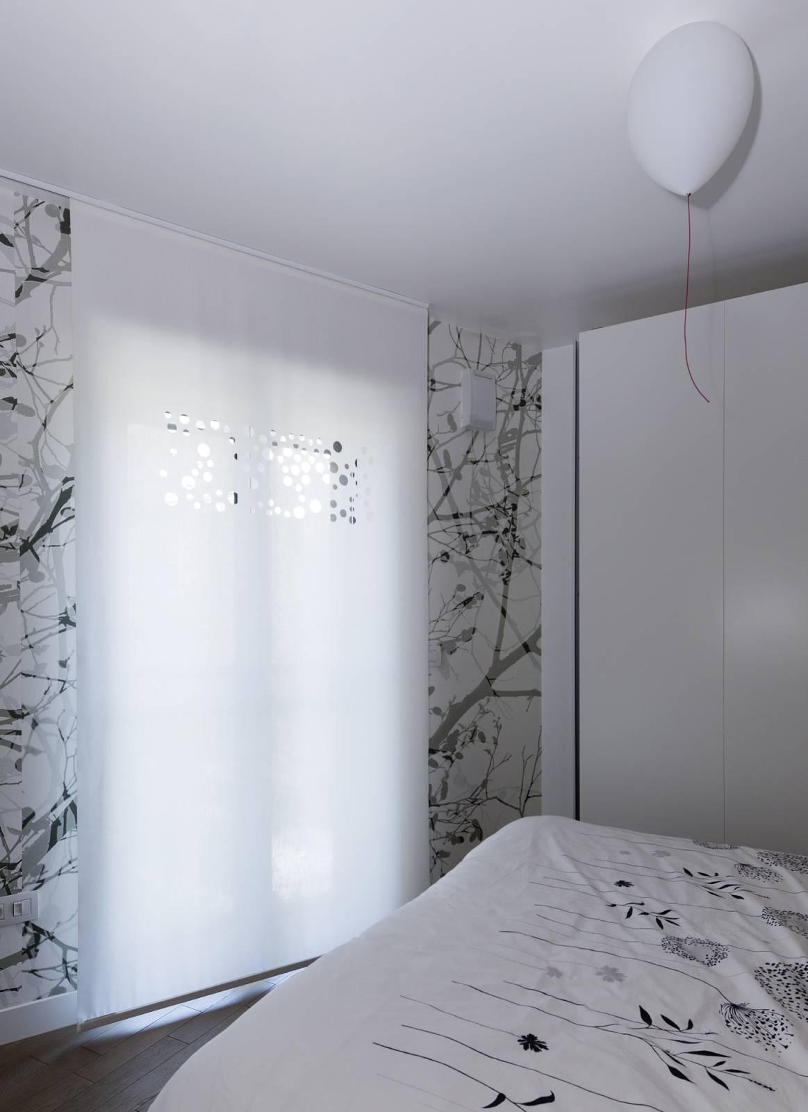 """Panneaux japonais translucides """"Bulles de savon"""" - exemple de réalisation 6"""