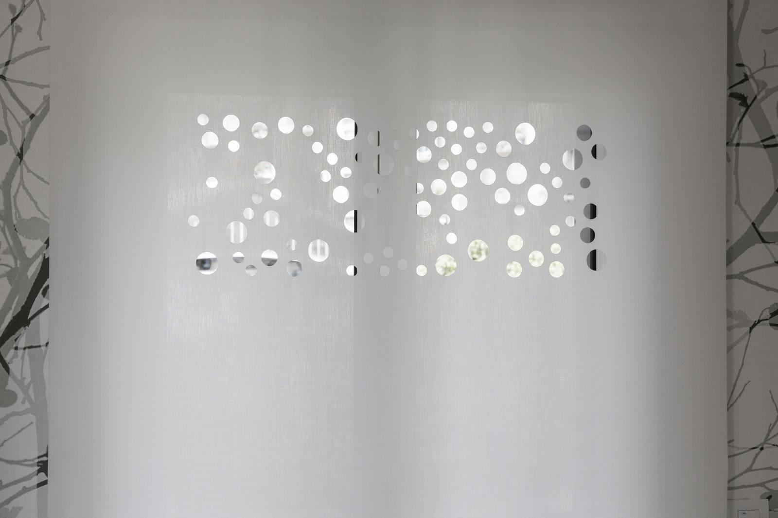 """Panneaux japonais translucides """"Bulles de savon"""" - exemple de réalisation 8"""