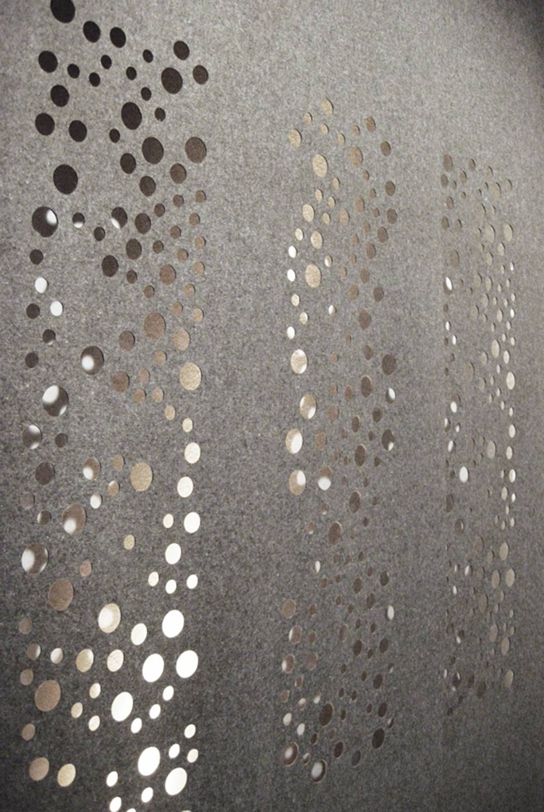 """Bubbles"" blackout sliding panels - 2"
