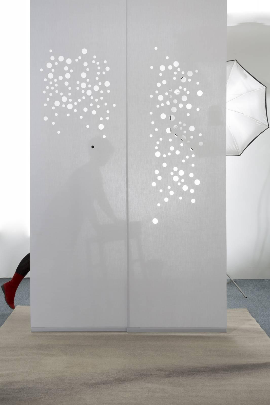Panneaux japonais Bulles de savon Translucide