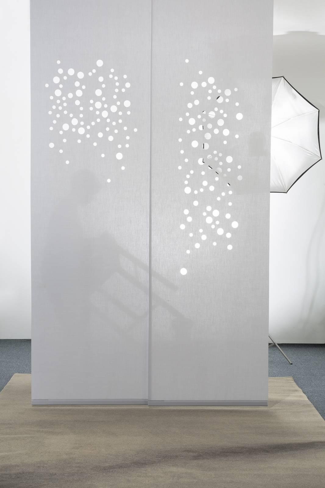 Panneaux coulissants Translucide Bulles de savon