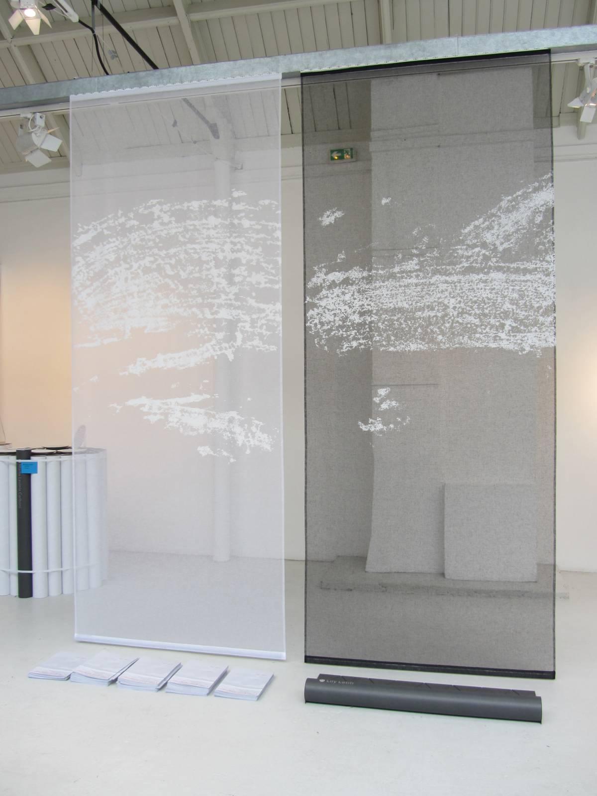 """Panneaux japonais transparents """"Céleste 1"""" - exemple de réalisation 1"""