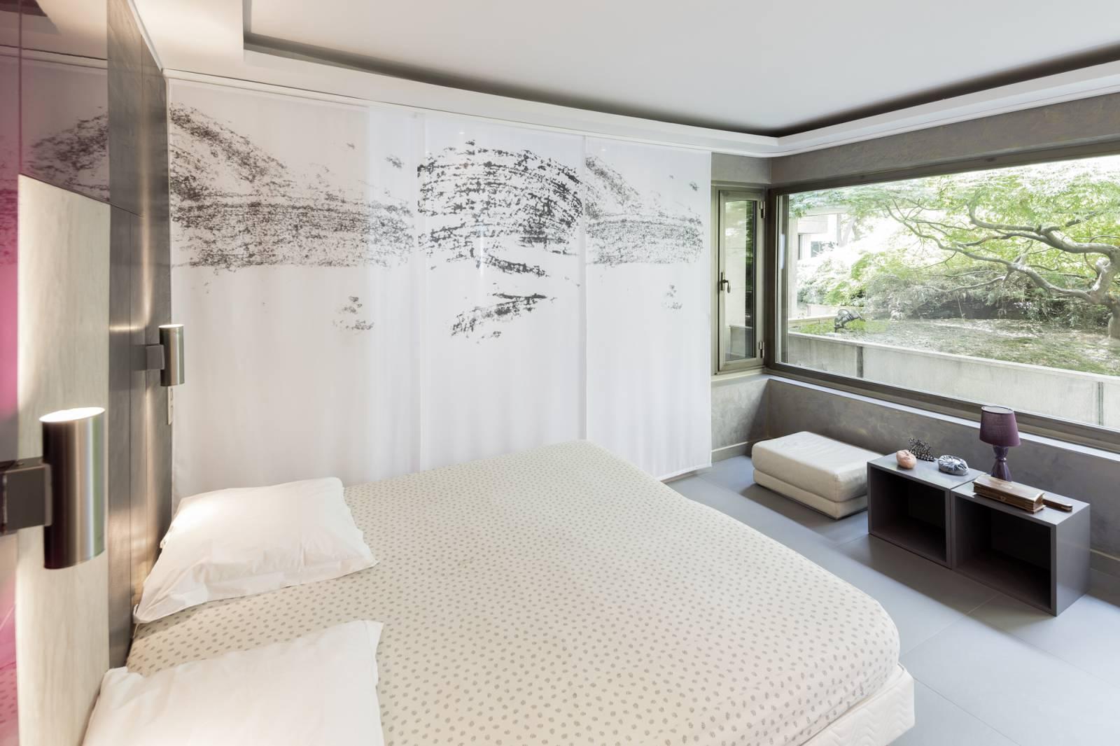 """Panneaux japonais transparents """"Céleste 1"""" - exemple de réalisation 4"""