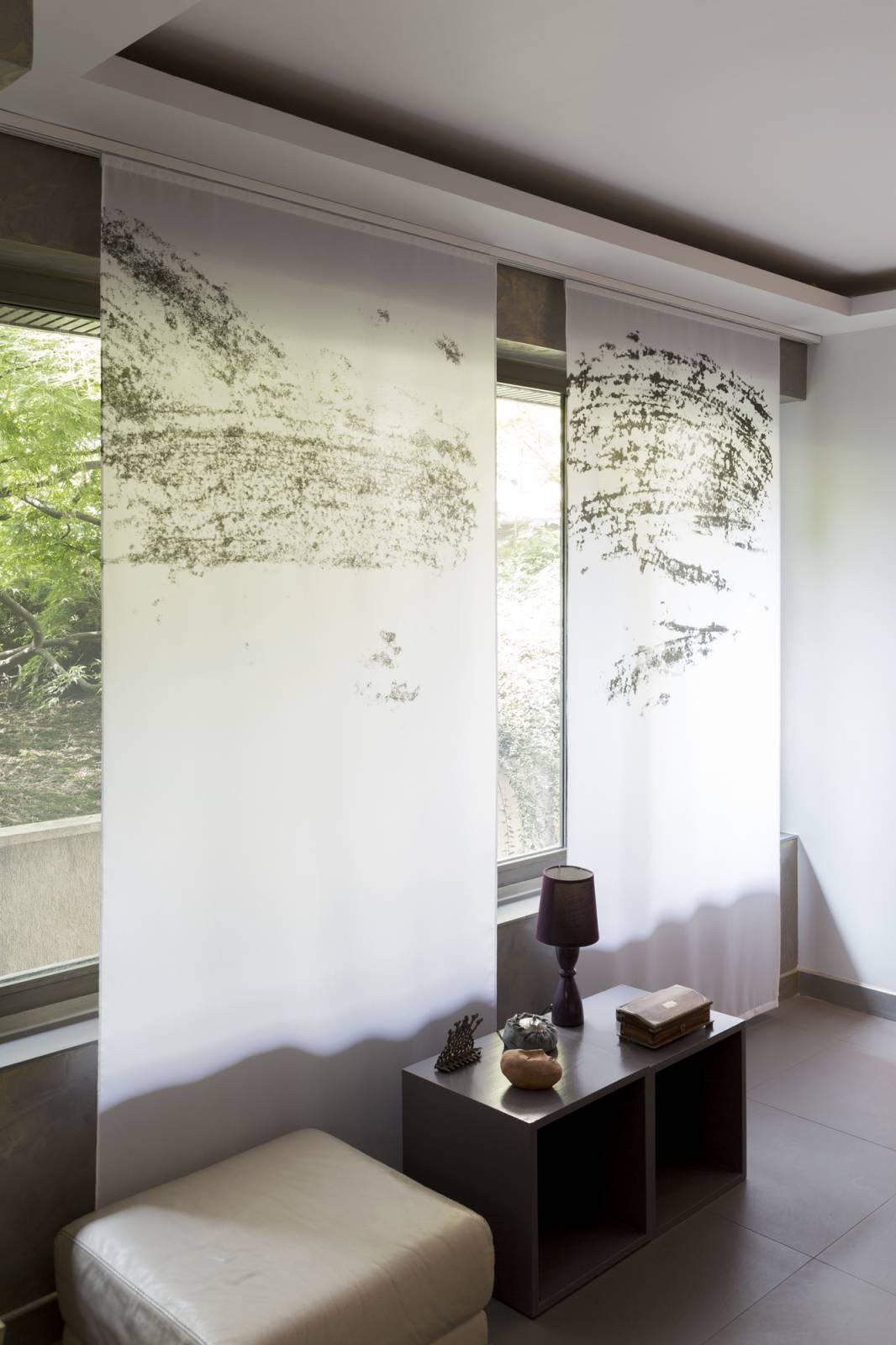 """Panneaux japonais transparents """"Céleste 1"""" - exemple de réalisation 7"""