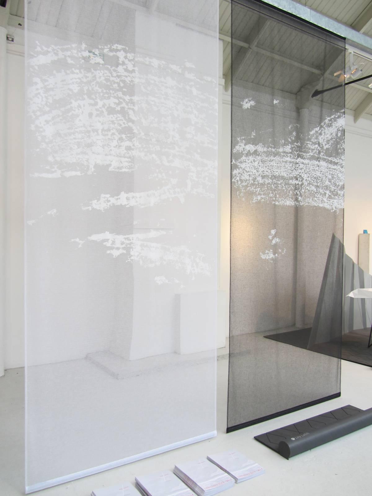 """Panneaux japonais transparents """"Céleste 2"""" - exemple de réalisation 1"""