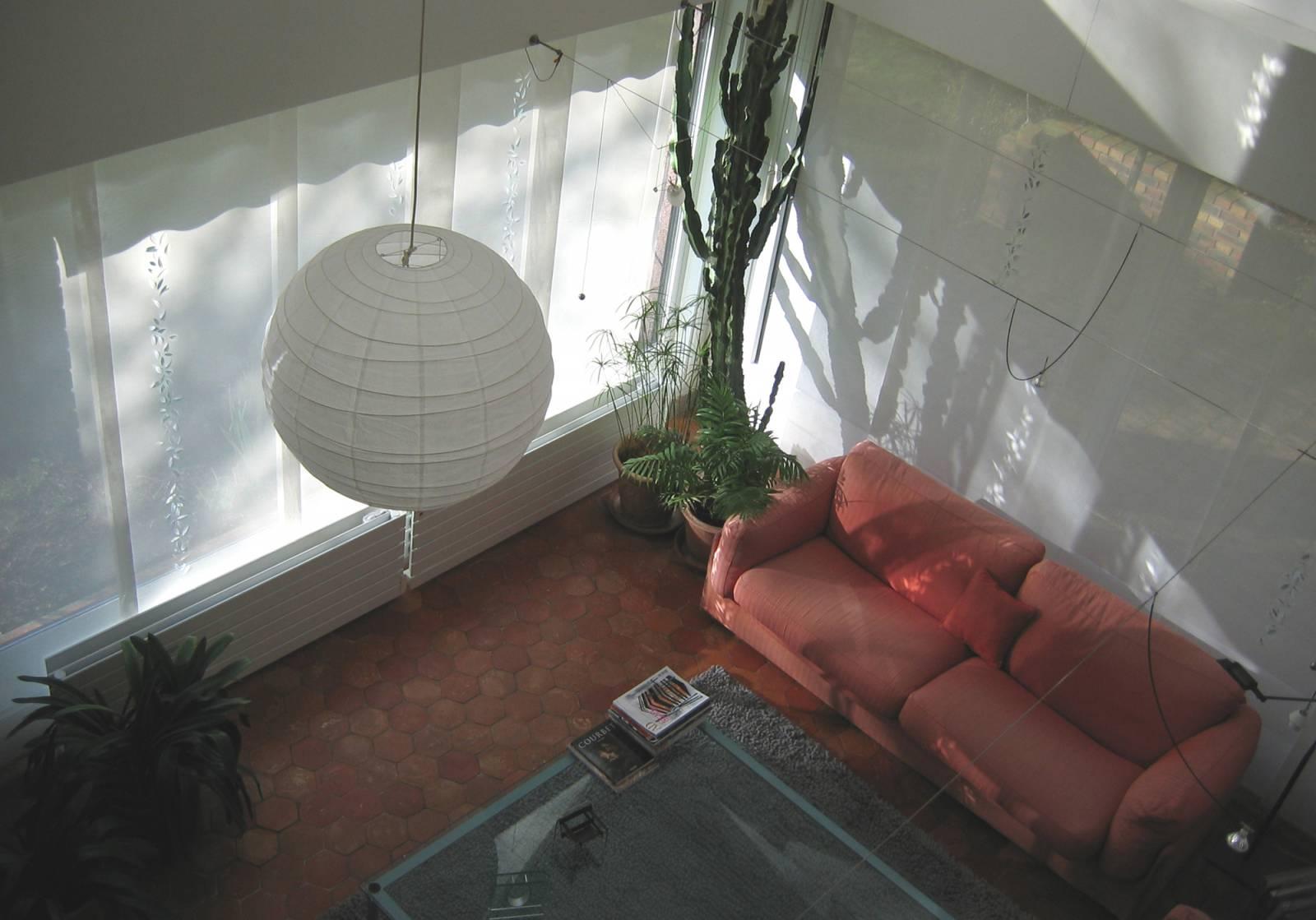 """Panneaux japonais écrans solaires """"Guirlande de feuilles"""" - exemple de réalisation 8"""