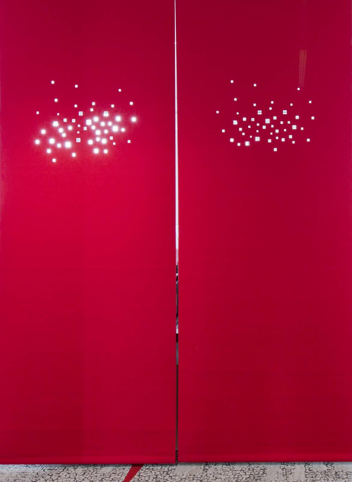 """Panneaux japonais occultants """"Lumières de la ville"""" - exemple de réalisation - 3"""