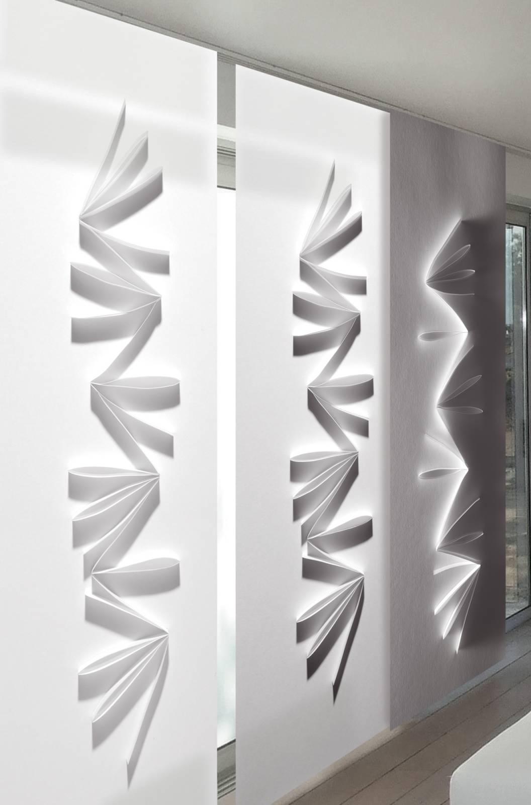 maryam trompe l 39 oeil sliding panel. Black Bedroom Furniture Sets. Home Design Ideas