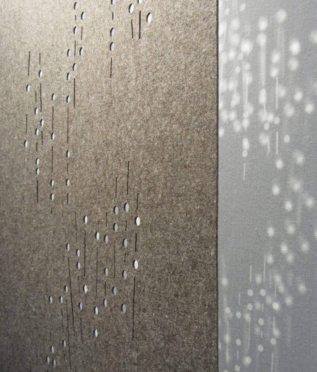 """Panneaux japonais occultants """"Nuage de fleurs"""" - exemple de réalisation - 2"""