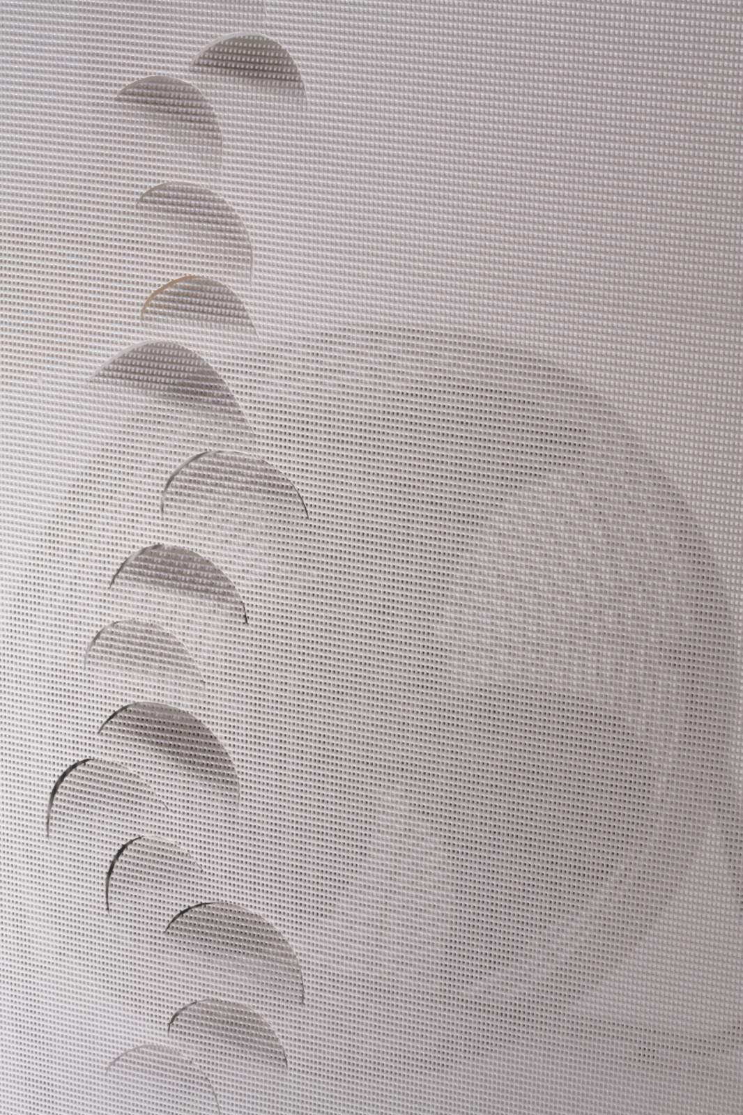 """Panneaux japonais écran solaire """"Petites lunes"""" - exemple de réalisation 5"""