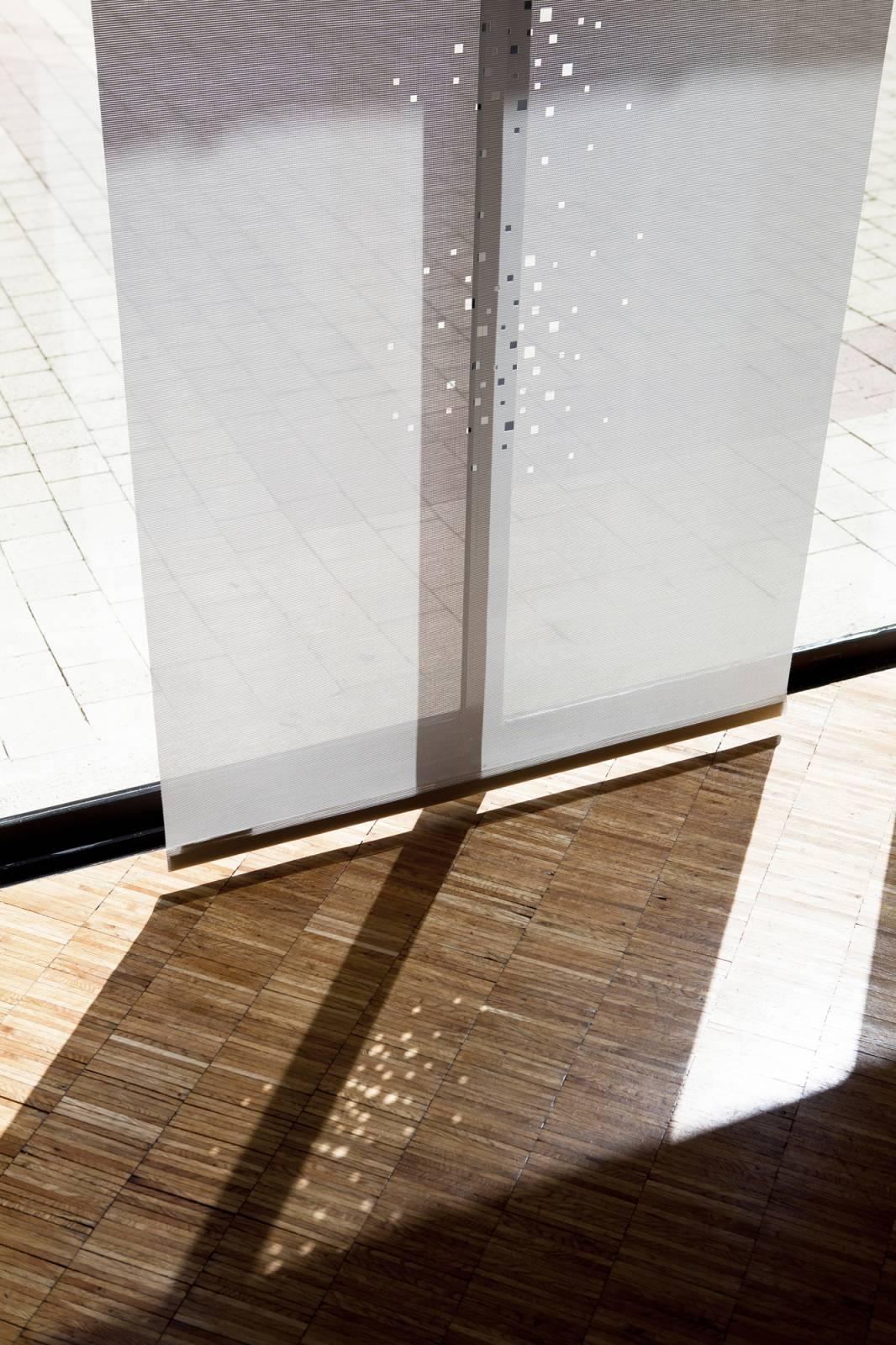 """Panneaux japonais écran solaire """"Petites fenêtres"""" - exemple de réalisation 10"""