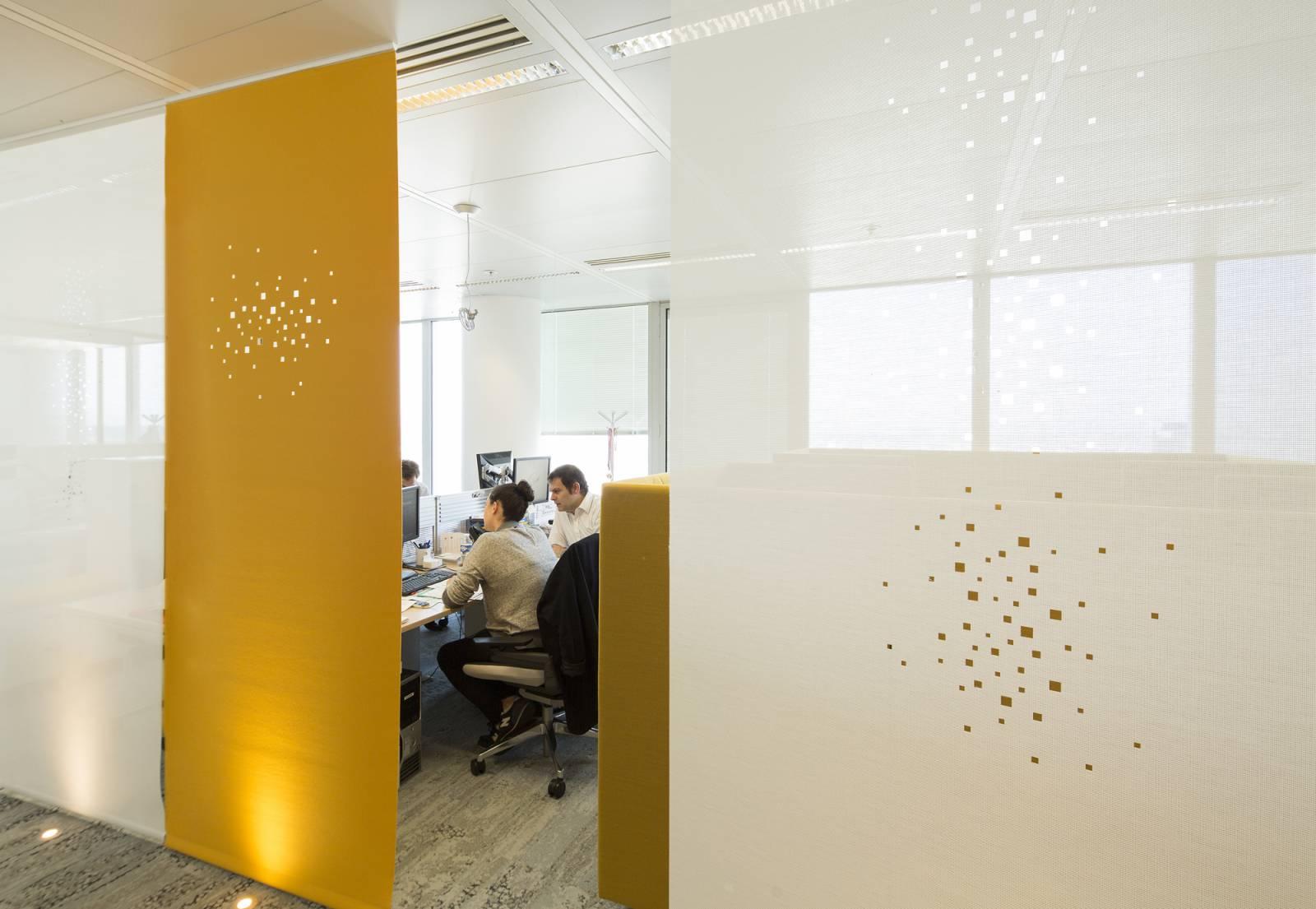 """Panneaux japonais écran solaire """"Petites fenêtres"""" - exemple de réalisation 14"""