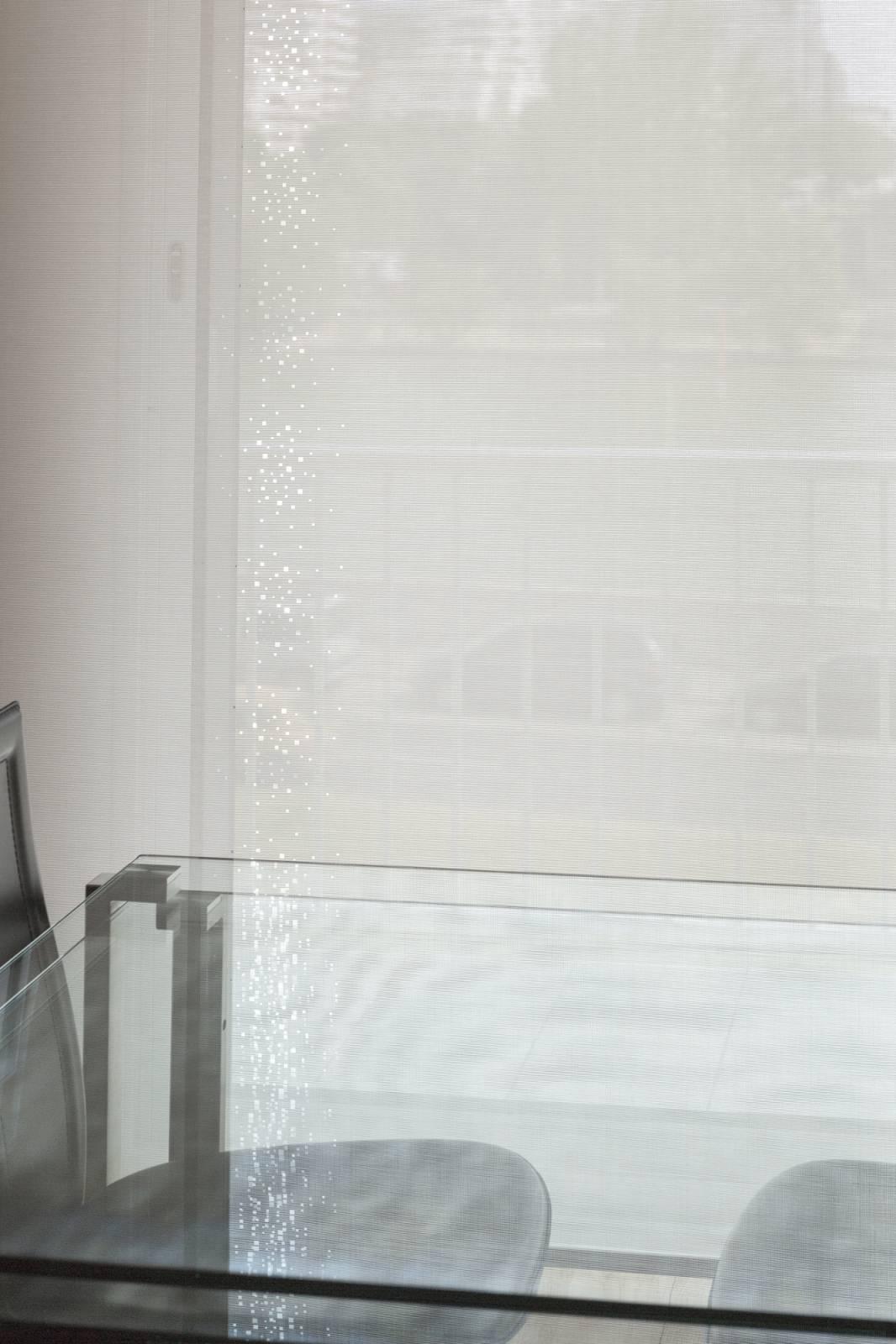 """Panneaux japonais écran solaire """"Petites fenêtres"""" - exemple de réalisation 19"""