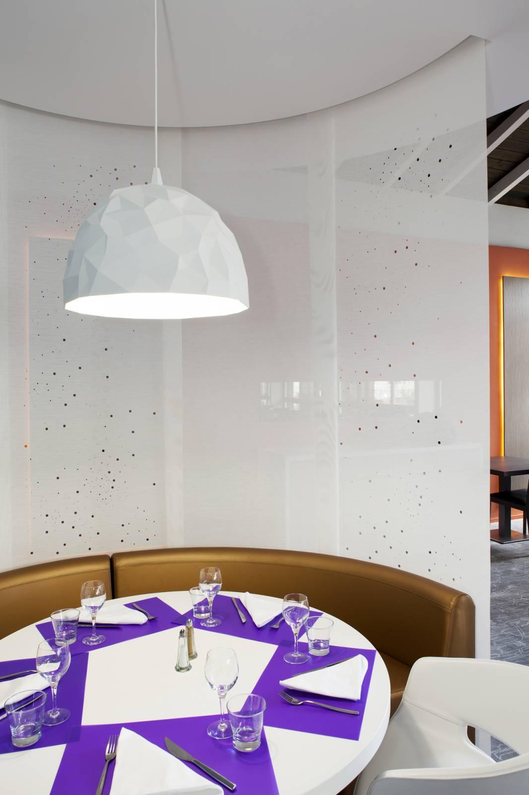 """Panneaux japonais translucides """"Voie lactée"""" - exemple de réalisation 12"""