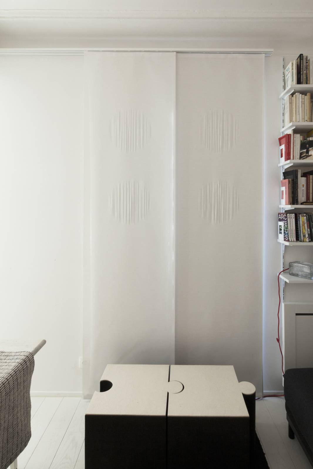 """Panneaux japonais translucides """"Soleil"""" - exemple de réalisation 1"""