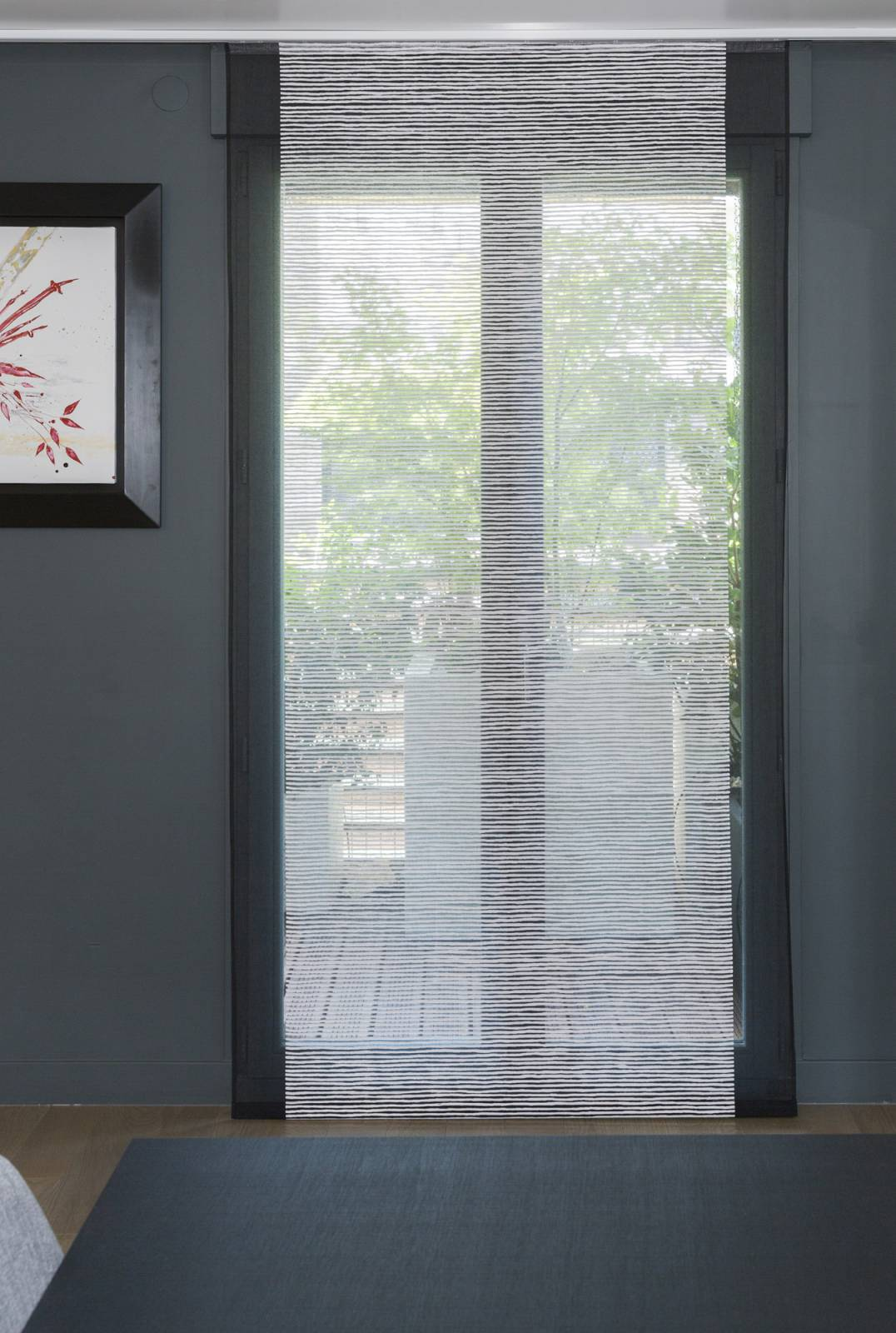 """Siesta H"" transparent sliding panels"