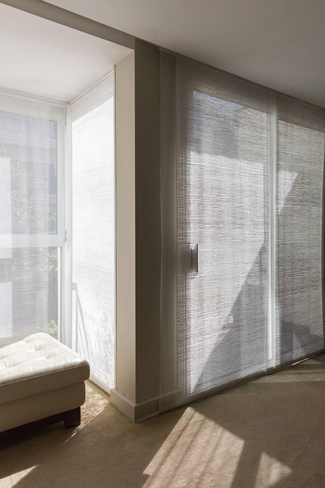 """Panneaux japonais transparents """"Sieste H"""" - exemple de réalisation 2"""