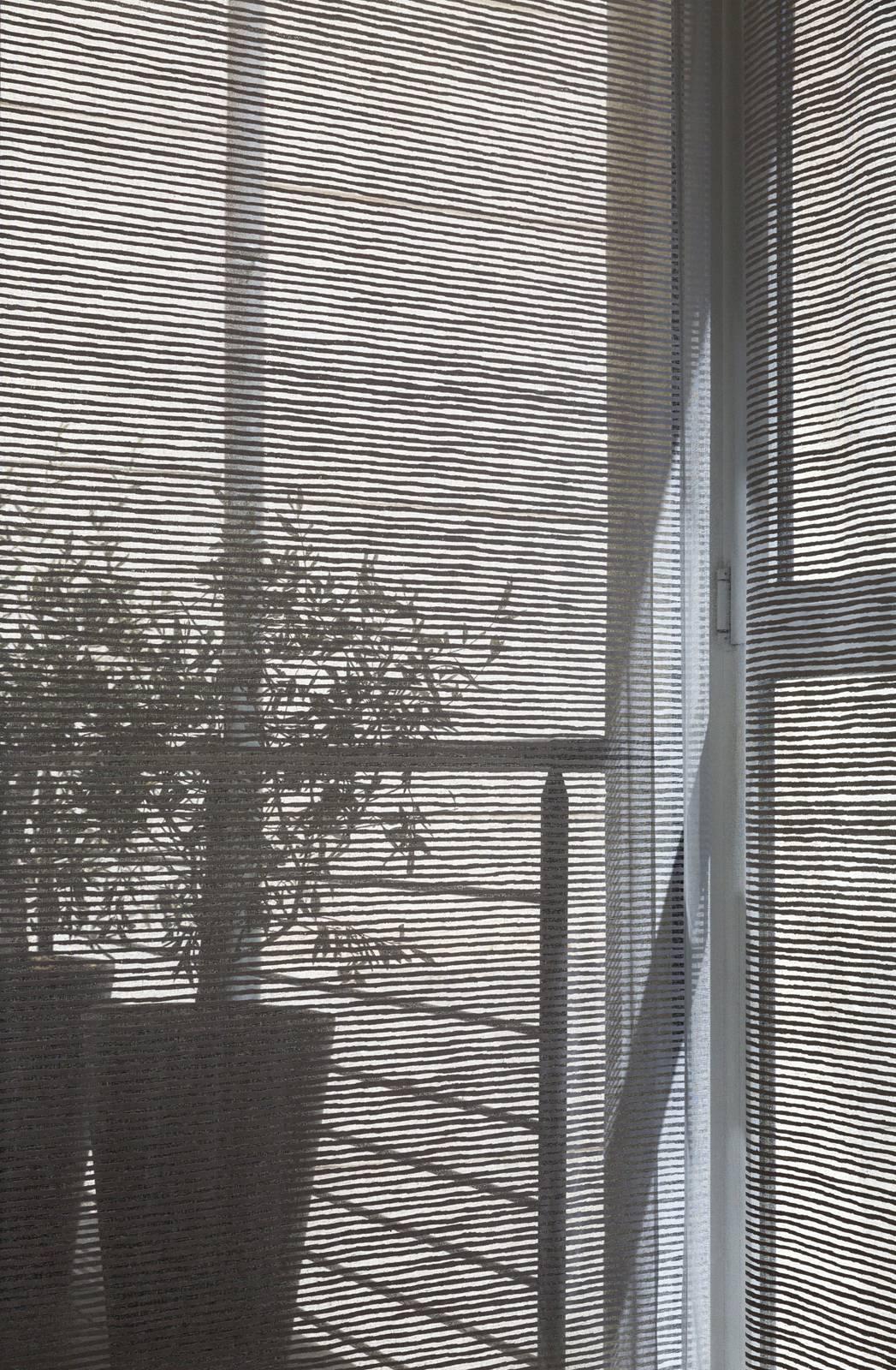 """Panneaux japonais transparents """"Sieste H"""" - exemple de réalisation 5"""