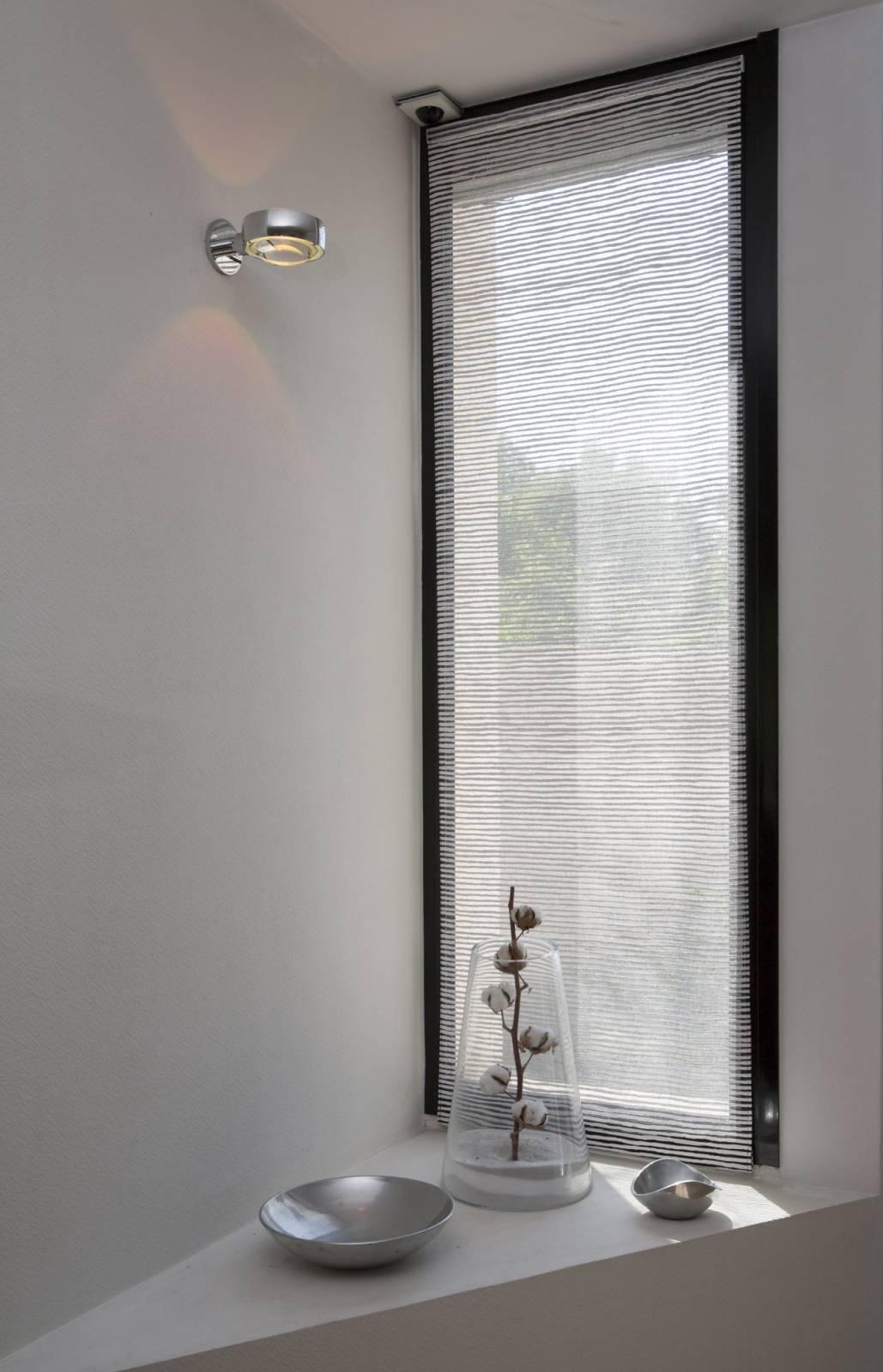 """Siesta H"" transparent sliding panel - example 8"