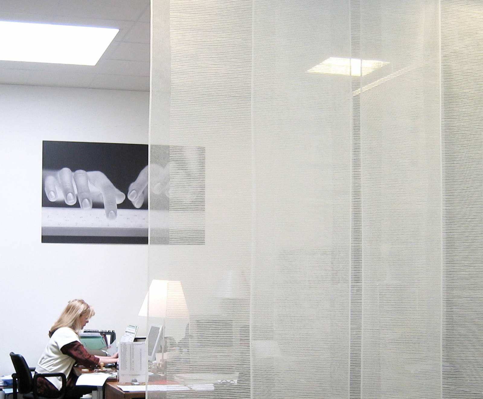"""Panneaux japonais transparents """"Sieste H"""" - exemple de réalisation 13"""