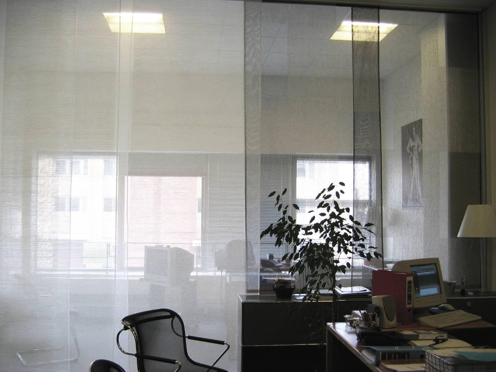 """Siesta H"" transparent sliding panel - example 16"
