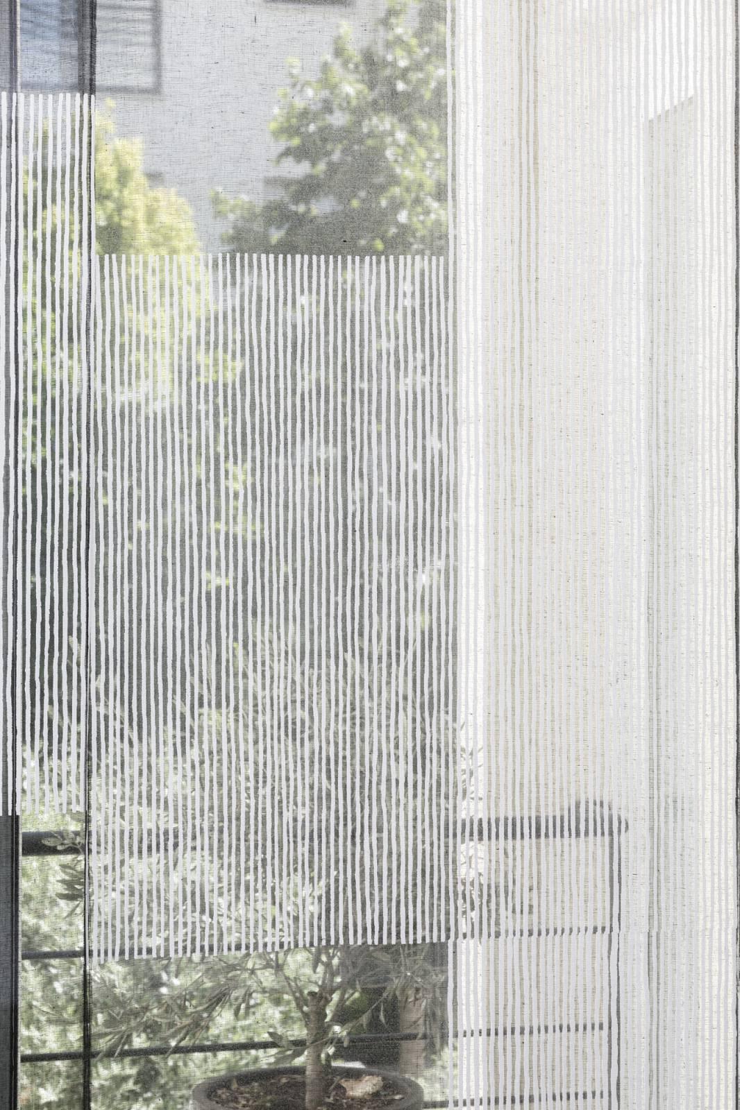 """Panneaux japonais transparents """"Sieste V"""" - exemple de réalisation 10"""