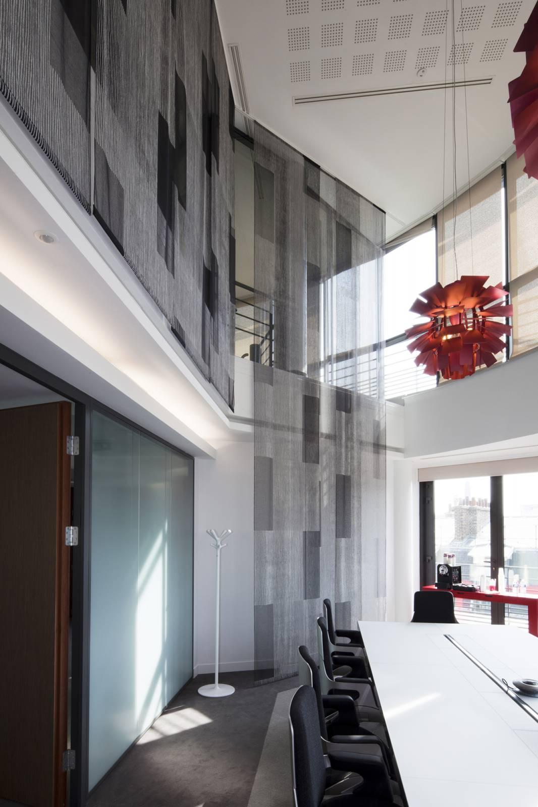 """Panneaux japonais transparents """"Sieste V"""" - exemple de réalisation 3"""